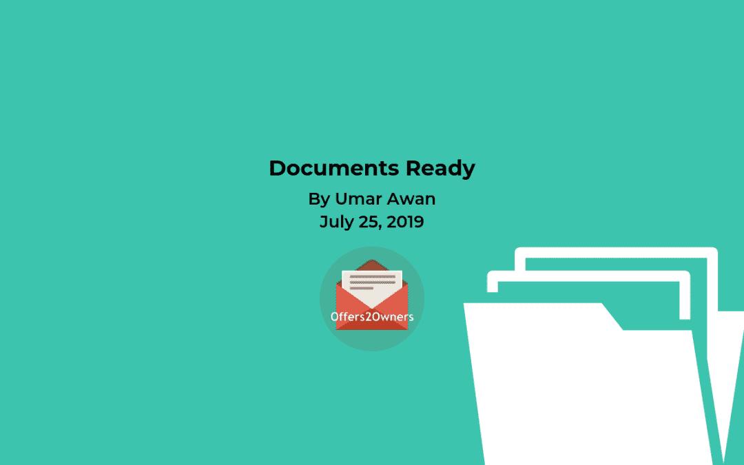 Documents Ready