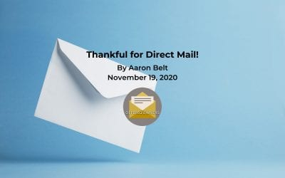 Thankful for Direct Mail!